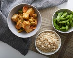 Peanut Sauce with Tofu
