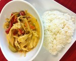 Thai Red Curry w/Chicken